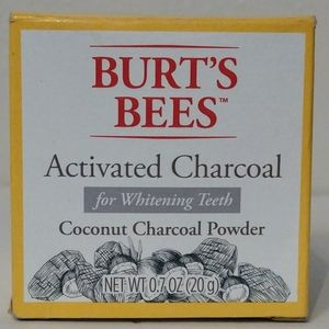 Burt's Bees Activated Charcoal Teeth Whitening